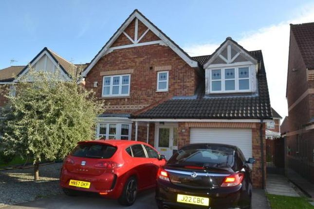 Thumbnail Detached house to rent in Hartsholme Park, Kingswood, Hull