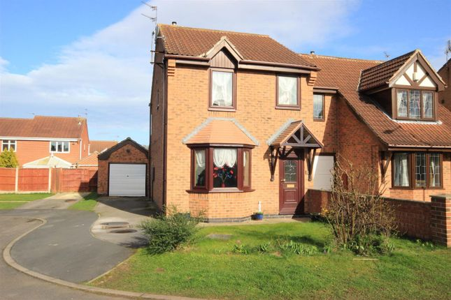 3 bed semi-detached house for sale in Falcon Close, Adwick-Le-Street, Doncaster