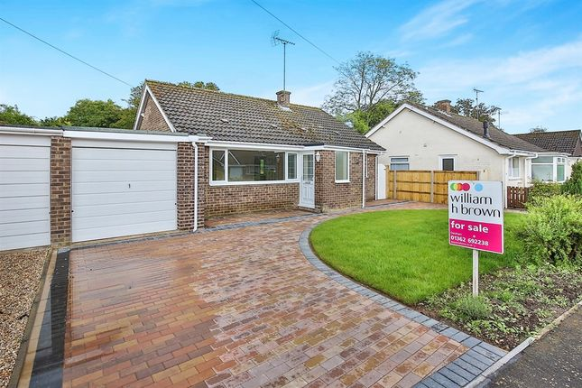 Thumbnail Detached bungalow for sale in Brookside, North Elmham, Dereham
