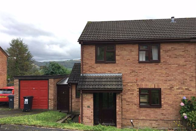 Thumbnail Semi-detached house to rent in 55, Gungrog Hill, Welshpool, Powys