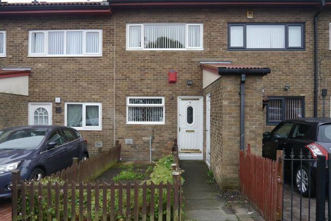 Thumbnail Terraced house to rent in Waterbeach Place, Slatyford, Newcastle Upon Tyne
