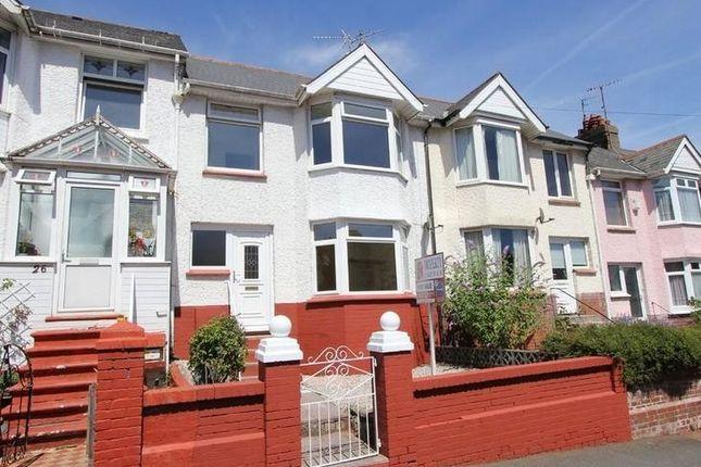 Thumbnail Semi-detached house to rent in Clifton Road, Paignton, Devon