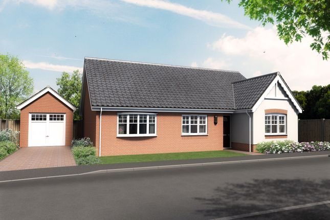 Thumbnail Detached bungalow for sale in Plot 6, Barn Owl Close, Reedham