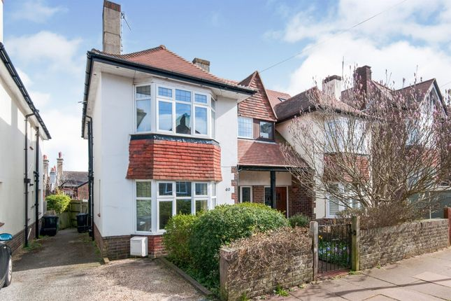 Thumbnail Semi-detached house for sale in Reigate Road, Brighton