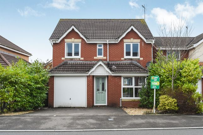 Thumbnail Detached house for sale in Powell Drive, Llanharan, Pontyclun
