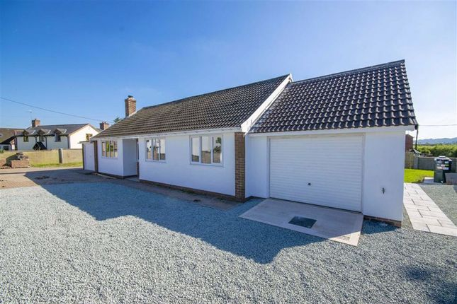 Thumbnail Detached bungalow for sale in Maesbury Marsh, Oswestry