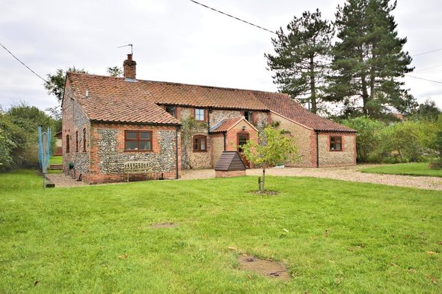Thumbnail Cottage for sale in Broom Green, North Elmham, Dereham
