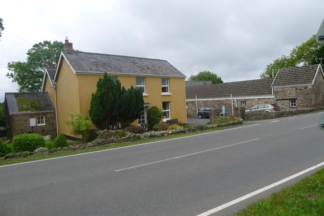 Thumbnail Detached house for sale in Molleston, Narberth