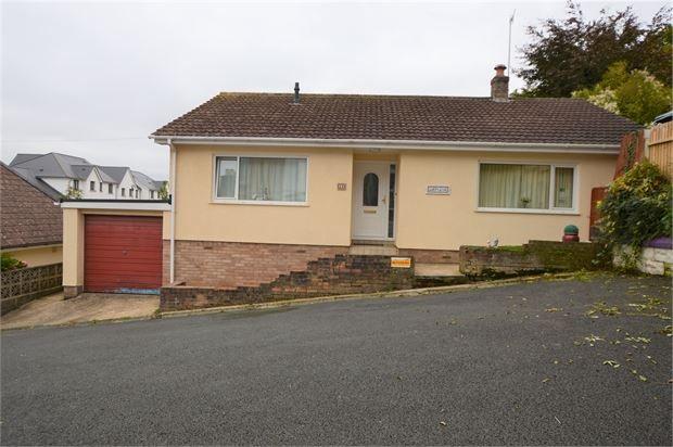 Thumbnail Detached bungalow for sale in George Street, Newton Abbot, Devon.