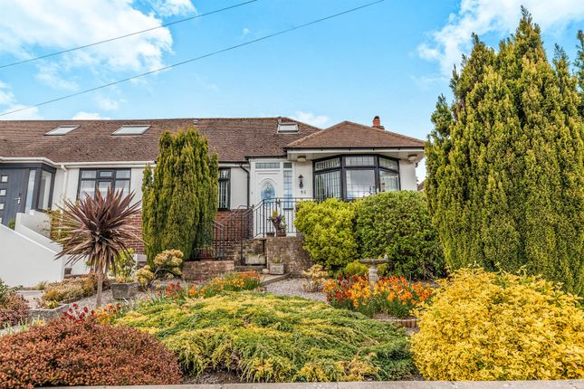 Thumbnail Semi-detached bungalow for sale in Stoneleigh Avenue, Brighton