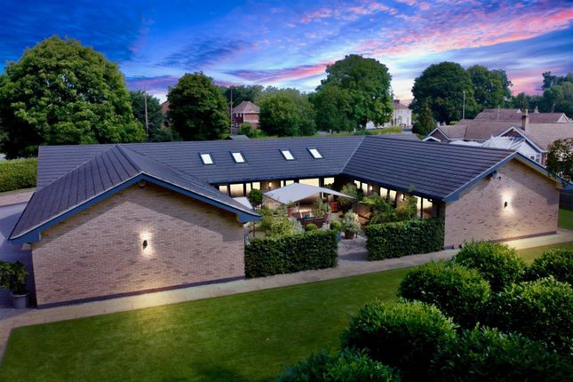 Thumbnail Bungalow for sale in High Street, Harlaxton, Grantham
