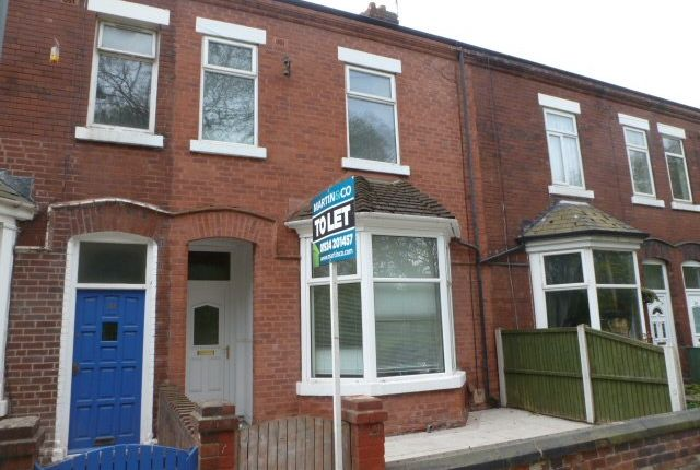 Thumbnail Terraced house to rent in Eastmoor Road, Wakefield
