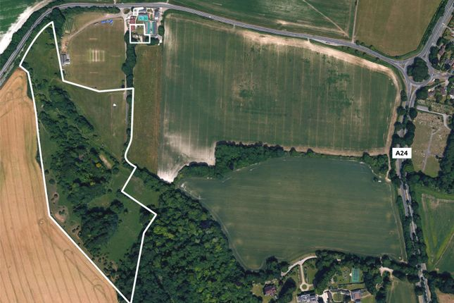 Thumbnail Land for sale in Long Furlong, Findon, Worthing, West Sussex