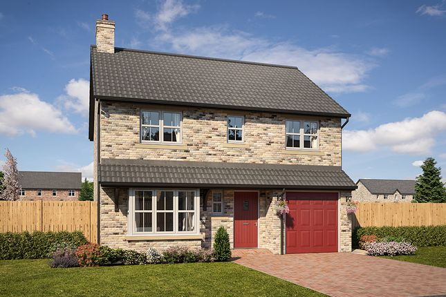 "Thumbnail Detached house for sale in ""Belsay"" at Mason Avenue, Consett"