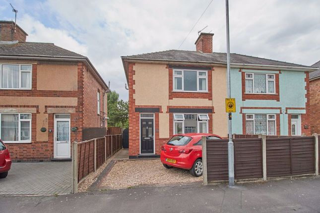 Thumbnail Semi-detached house to rent in Bradgate Road, Barwell, Leicestershire