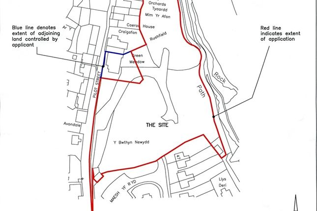 Land for sale in Development Site, At Green Meadow, Pilot Street, St Dogmaels, Pembrokeshire