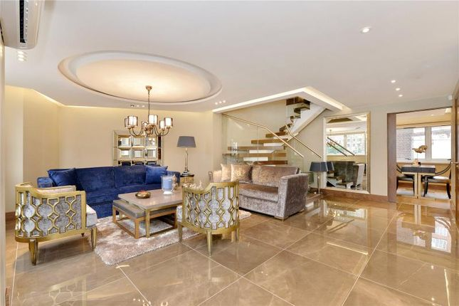 Thumbnail Terraced house for sale in Porchester Place, London