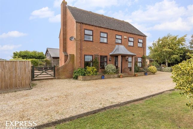 Thumbnail Detached house for sale in Middle Drove, St Johns Fen End, Wisbech, Norfolk