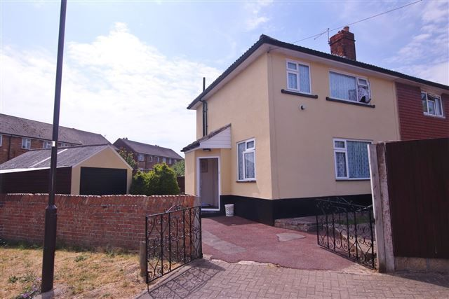 Thumbnail Semi-detached house to rent in Whitstable Road, Wymering, Portsmouth, Hampshire