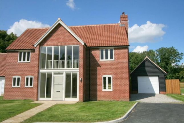 Thumbnail Detached house for sale in School View, Caston, Attleborough