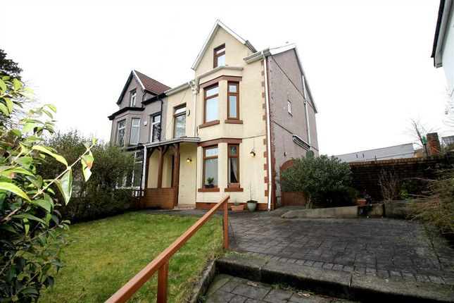 Thumbnail Semi-detached house for sale in Llanfair Road, Penygraig, Tonypandy