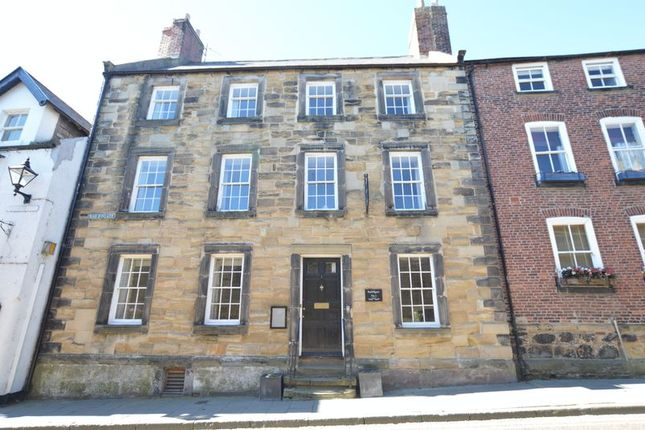 Thumbnail Town house for sale in Bailiffgate, Alnwick