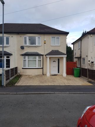Thumbnail Semi-detached house for sale in Kingsway Crescent, Manchester