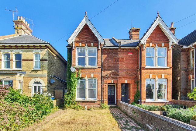 Thumbnail Semi-detached house for sale in London Road, Faversham