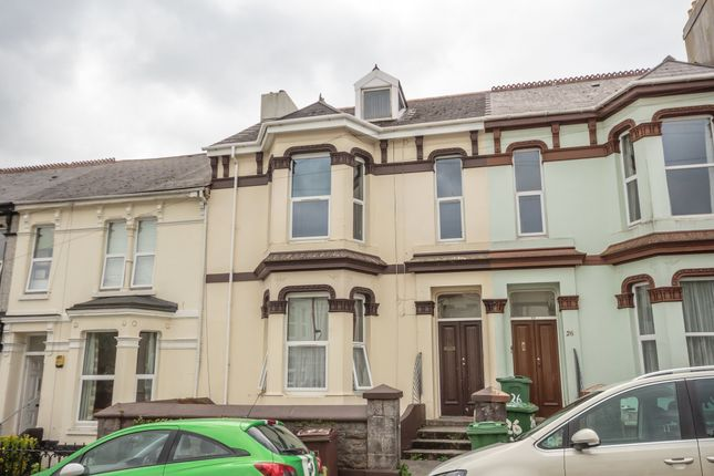 Thumbnail Shared accommodation to rent in Lisson Grove, Mutley, Plymouth