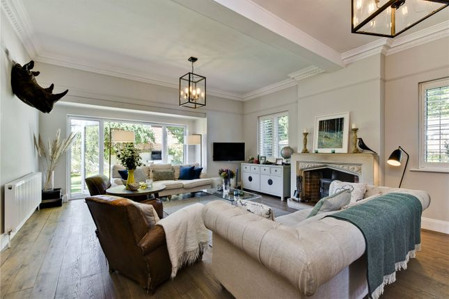 Thumbnail Detached house for sale in Dartnell Avenue, West Byfleet, Surrey