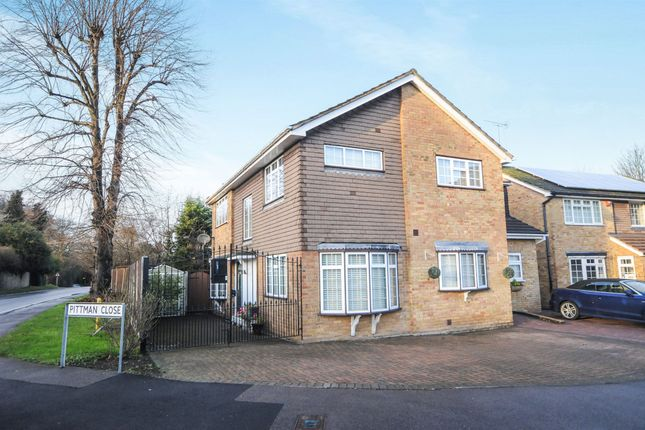 Thumbnail Semi-detached house for sale in Pittman Close, Ingrave, Brentwood