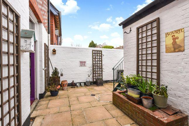 Rear Courtyard of Maltravers Street, Arundel, West Sussex BN18