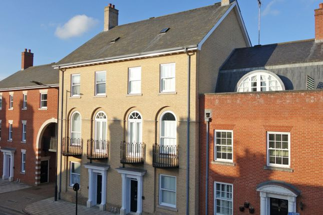 Thumbnail Town house for sale in Westgate Street, Bury St. Edmunds