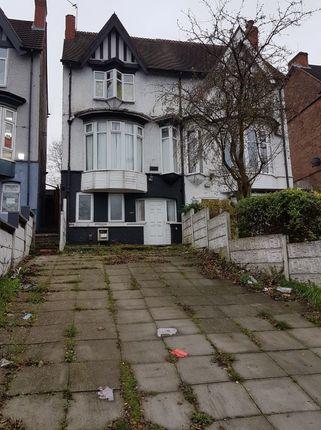 Thumbnail Semi-detached house for sale in 106 Gravelly Hill, Erdington, Birmingham, West Midlands