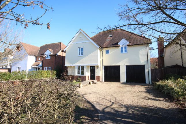 Thumbnail Detached house for sale in Southend Road, Howe Green, Chelmsford