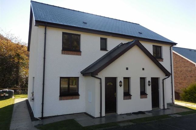 Thumbnail Semi-detached house for sale in Llanafan, Aberystwyth, Ceredigion