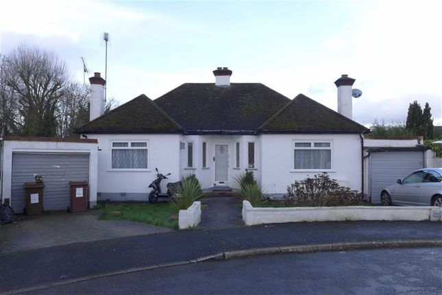 Thumbnail Detached bungalow for sale in Brunswick Close, Pinner, Middlesex