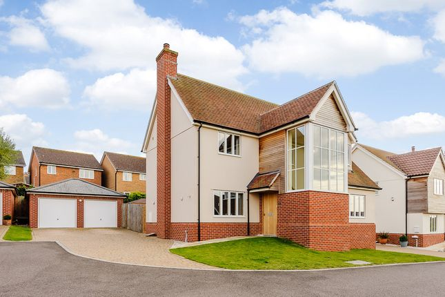 Thumbnail Detached house for sale in Tenter Close, Hadleigh, Ipswich