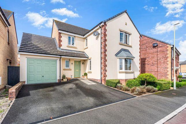 Thumbnail Detached house for sale in Gallt Y Ddrudwen, Laleston, Bridgend