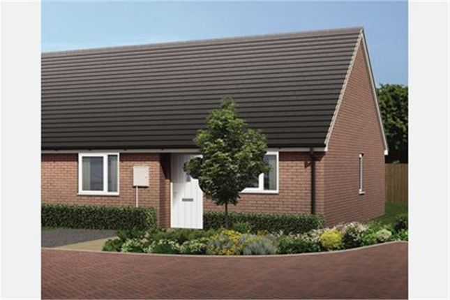 Thumbnail Terraced bungalow for sale in Squirrel Crescent, Melton Mowbray, Leicestershire