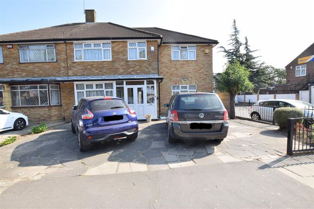 Thumbnail Semi-detached house for sale in Chadwell Heath Lane, Chadwell Heath, Romford