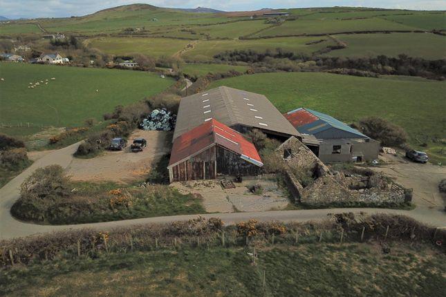 Thumbnail Industrial for sale in Aberdaron, Pwllheli