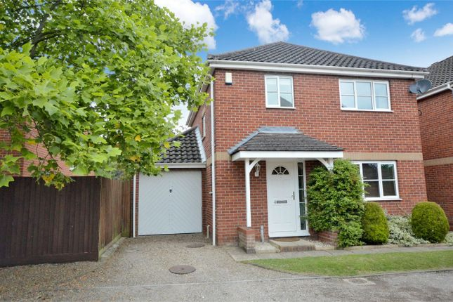 Thumbnail Detached house for sale in Hadley Drive, Norwich
