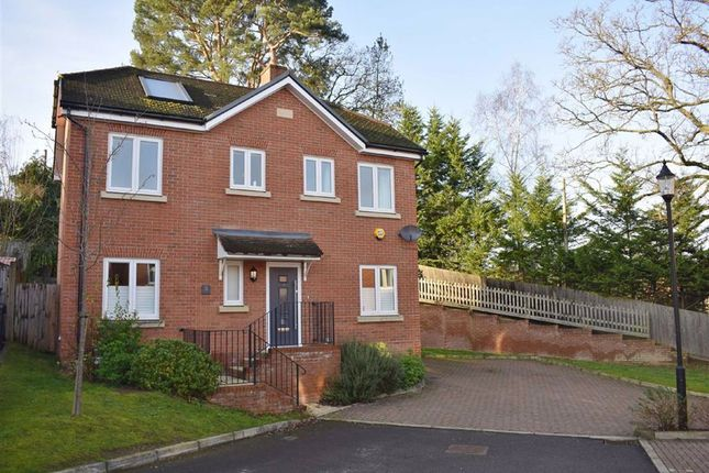 Thumbnail Detached house for sale in Blackthorn Close, Lower Bourne, Farnham