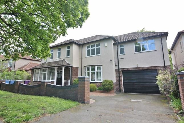 Thumbnail Detached house for sale in Queens Drive, Mossley Hill, Liverpool
