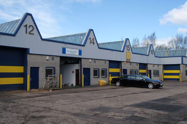 Thumbnail Industrial to let in Tennant Ave, East Kilbride
