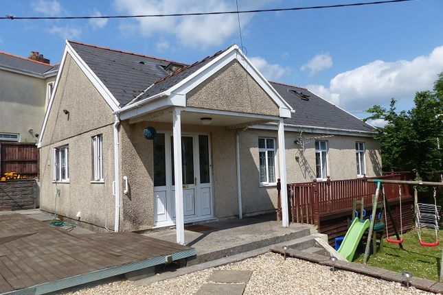 Thumbnail Detached bungalow for sale in Ffordd Raglan, Heol Y Cyw, Bridgend, Mid Glamorgan.