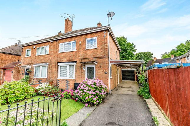 Thumbnail Semi-detached house for sale in Sarrington Road, Lloyds, Corby
