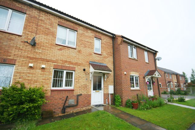 Thumbnail Terraced house to rent in Jasmine Court, Spalding