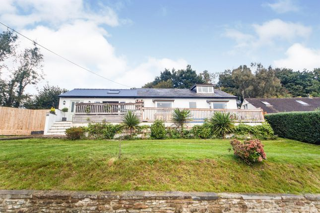 Thumbnail Detached bungalow for sale in Cwm Fedw, Machen, Caerphilly